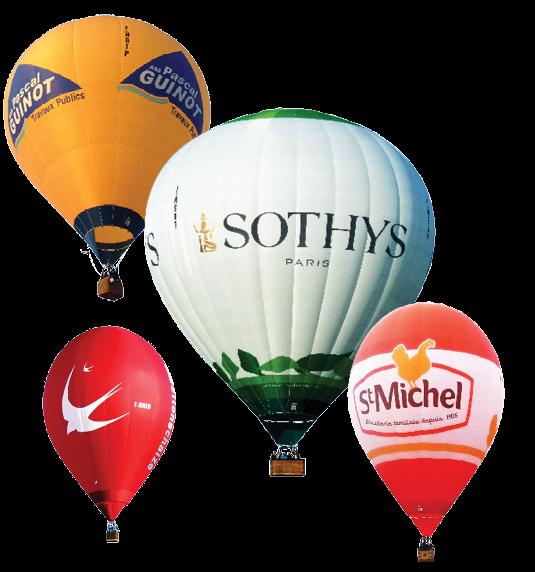 Vos montgolfières